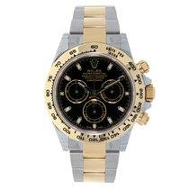 勞力士 (Rolex) DAYTONA Steel & 18K Yellow Gold Watch Black Dial