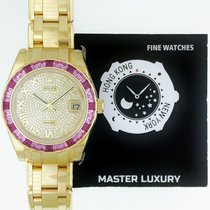 勞力士 (Rolex) 81348SARO Pearlmaster Pink Sapphire Bgt Bzl Pave...