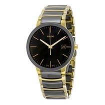 雷达 (Rado) Rado Men's R30929152 Centrix Black Dial Watch