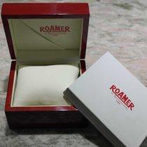 Roamer vintage wooden watch box