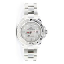 Rolex Yachtmaster 16622 Stainless Steel Platinum Bezel and...