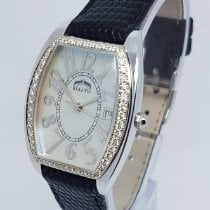 Rialto Ladies 18K White Gold & Diamond with MOP Dial Watch