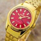 Rado Auto Dress Watch Gold Pltd Automatic 60s Ladies Dress...