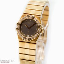 Chopard St. Moritz Lady Ref-7047 5156 18k Yellow Gold Bj-1990