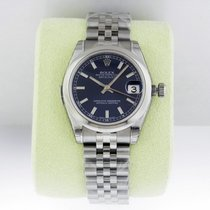 Rolex Datejust 31mm Steel Blue Index Dial