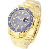 Rolex Unworn 116618Lb Yellow Gold Submariner with Ceramic...
