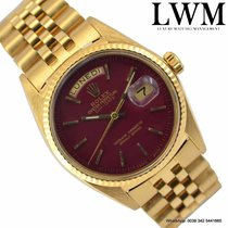 Rolex Day-Date 1803 President Stella Oxblood dial Full Set