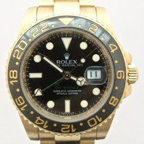 ロレックス (Rolex) GMT-Master II Ceramic bezel yellow gold 116718LN