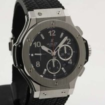 Hublot Big Bang Evolution steel chronograph 44mm - full set -...