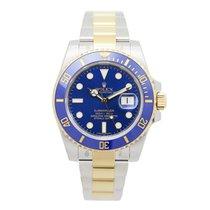 勞力士 (Rolex) Submariner(date) Gold And Steel Blue Automatic...