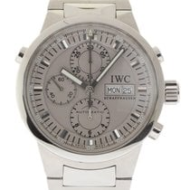 IWC IW371508 GST Rattrapante Chronograph Steel Silver Box/Pape...