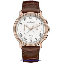 Blancpain Villeret Flyback Chronograph Pulsometer 6680F-3631-55B