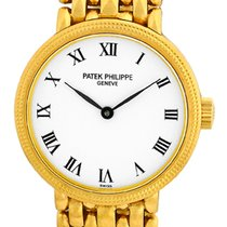 "Patek Philippe Lady's 18K Yellow Gold  ""Calatrava""..."