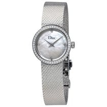 Dior La D De Mother of Pearl Diamond Ladies Watch