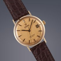 Omega Seamaster De Ville 18ct yellow gold automatic watch...