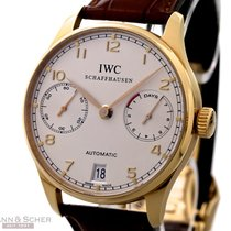 IWC Portugieser Automatic Ref-Iw500101 18k Rose Gold Box...