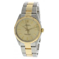 Rolex Oyster Perpetual 18K Yellow Gold & S/S 1005
