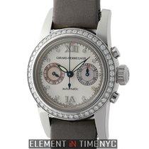 Girard Perregaux Small Chronograph Collection Ladies 18k White...