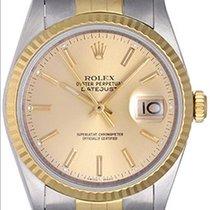 롤렉스 (Rolex) Datejust Steel & 18k Yellow Gold Men's...