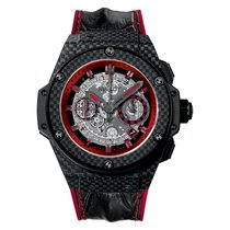 Hublot King Power Unico Black and Red Carbon Men`s Watch