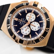 Omega Constellation Double Eagle Chrono Rose Gold