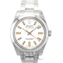 ロレックス (Rolex) Milgauss White/Steel Ø40mm - 116400
