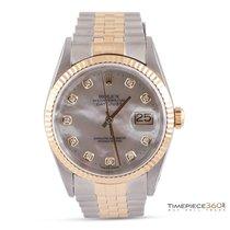 Rolex Datejust 36 Steel, Yellow Gold & Diamonds
