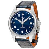 IWC Pilots Blue Dial Automatic Midsize Watch