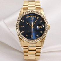 Ρολεξ (Rolex) Day-Date 18348 18K Yellow Gold Diamond