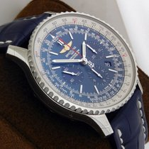Breitling Navitimer 01 Chrono 46mm ab012721/c889 3cd  Blue Dial