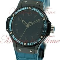 "Hublot Big Bang 38mm Tutti Frutti ""Blue"", Black Dial,..."