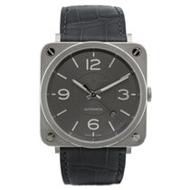 Bell & Ross BR S Officer Ruthenium