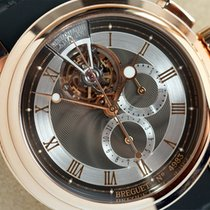 Breguet Marine Tourbillon Chronograph 18K Solid Rose Gold