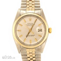 Rolex Datejust 1601 Two Tone  Steel / Gold - Silver Sunray Dial