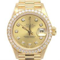 ロレックス (Rolex) デイトジャスト 金無垢 ベゼルダイヤ Datejust 750 Yellow Gold