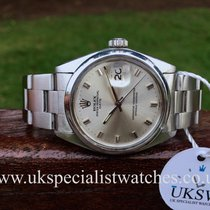 Rolex Oyster Perpetual Date – Rare Silver Dial - Steel - 1500