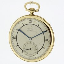 Solvil solid 18K Yellow Gold Pocket Watch (1660)