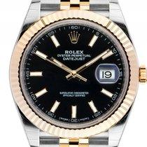 Rolex Datejust 41 Stahl Gelbgold Automatik Armband Jubilé...