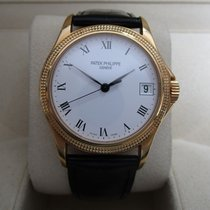 Patek Philippe Calatrava 18K Yellow Gold/White Dial