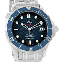Omega Seamaster Midsize Co-axial Blue Dial Watch 2222.80.00...