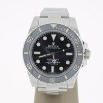 Rolex Submariner (No Date) steel (B&P2014) Mint 40mm