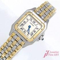 Cartier Panther Or et Acier - Ref: 66921 - Gold/Stahl - Quarz...