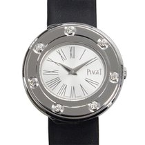 Piaget Possession 18k Platinum White Quartz G0A35085
