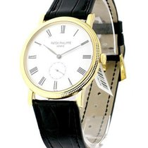 Patek Philippe 5119J 5119J 36mm Calatrava with Hobnail Case -...