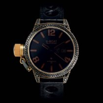 U-Boat CLASSICO 45 BLACK SWAN GOLD DIAMONDS