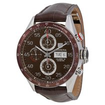 TAG Heuer Carrera Chronograph Day/Date Brown dial