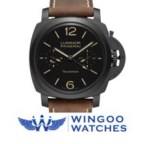 Panerai LUMINOR 1950 TOURBILLON GMT CERAMICA - 48MM Ref. PAM00396