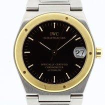 IWC Ingenieur Watch Ref. 3521 Black TRITIUM Dial Box Papers 1995