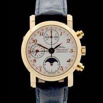 Waldan International Vollkalender GMT Chronograph - Rosegold -...