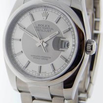 Rolex Datejust 116200 Stainless Steel Mens Automatic Wrist...
